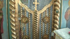Gate of the altar Stock Footage