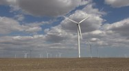 Timelapse of turbine in sunny day Stock Footage