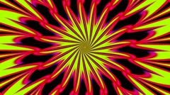 Pulsating Psychedelic Loop 01C 30 fps Stock Footage