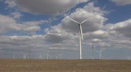 Stock Video Footage of Wind Turbine - Green Energy