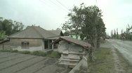 Stock Video Footage of Volcanic Ash Fallout During Merapi Eruption Crisis Indonesia
