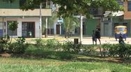 City Puerto Stock Footage