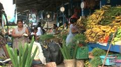 Market Puerto Maldonado Stock Footage