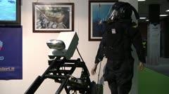 Carabinieri, special unit. Stock Footage