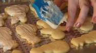 Stock Video Footage of Baking Sugar Cookies 19