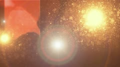Disco wall 16 Stock Footage
