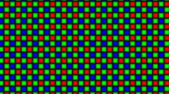 The panel from color squares Stock Footage