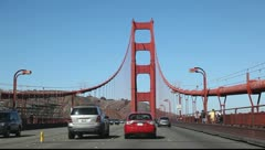 The Golden Gate Bridge Stock Footage