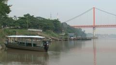 Boats Puerto Stock Footage