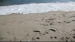 House in Malibu Beach, California Stock Footage