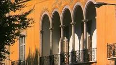 Architecture - Art Nouveau - NTSC Stock Footage