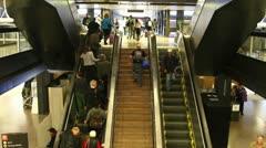Airport passenger Stock Footage