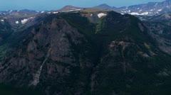 Beartooth Highway Panorama Stock Footage
