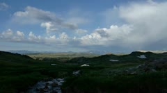 Clouds Over Beartooth Highway Stock Footage