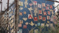 Tiles for America Stock Footage