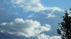 Cloudscape Intervallikuvaus 1 Arkistovideo