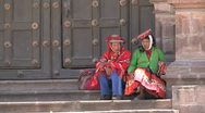 Stock Video Footage of Peruvian people