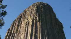 Devils Tower 4 Stock Footage