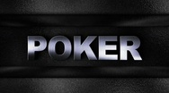Stock Video Footage of Poker Metal Wall - HD1080