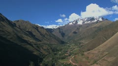 Andes mountains - stock footage