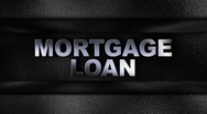 Stock Video Footage of Mortgage Loan Metal Wall - HD1080