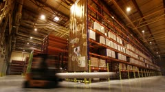 Warehouse - stock footage