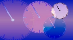 Time passing background - stock footage