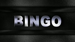 BINGO Metal Wall - HD1080 Stock Footage