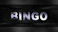 Stock Video Footage of BINGO Metal Wall - HD1080