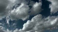 Sweeping Cloud View Time Lapse Stock Footage