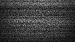 TV noise static HD Stock Footage