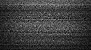 Stock Video Footage of TV noise static HD
