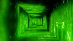 Christmas Tunnel v1 02 Stock Footage