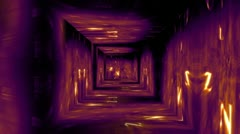 Christmas Tunnel v1 04 Stock Footage