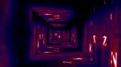 Christmas Tunnel v1 05 Stock Footage