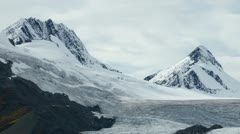 Worthington Glacier - stock footage