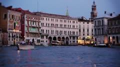 Venice 23 Stock Footage