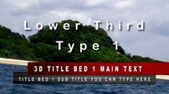 Lower Third Pack - stock after effects