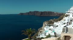 Santorini - greece island Stock Footage
