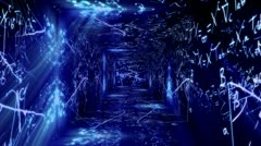 Science Tunnel v1 03 Stock Footage