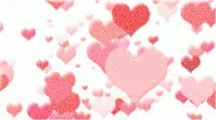 Heart Zoom Loop Stock Footage