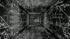 Science Tunnel v2 05 - stock footage