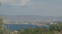 Cyprus, view over Polis Stock Footage