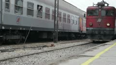 Diesel locomotive Stock Footage