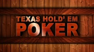 Stock Video Footage of Texas Hold 'em Poker Wood Wall - HD1080