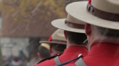 Royal Canadian Mounted Police Stock Footage