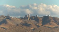 Stock Video Footage of Edwards AFB rocket test facility