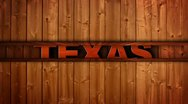 Stock Video Footage of Texas Wood Wall - HD1080
