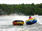 Stock Video Footage of Tubing bump buddies