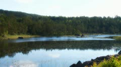 Swedish lake Stock Footage